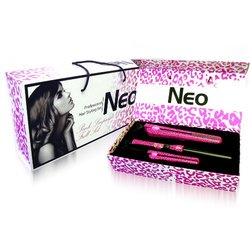 Neo Hair Styling Set (Hot Pink Leopard)