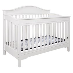 EB Langley 3-in-1 Convertible Crib - White