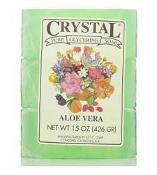 Crystal Pure Glycerine Soap - Aloe Vera - 15 oz bar