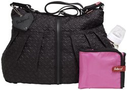 Babymel Quilted Amanda Diaper Bag - Black