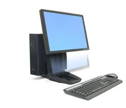 "Ergotron Neo-Flex All-In-One Lift Stand - up to 24"" Monitor (33-326-085)"