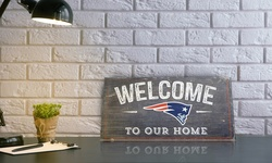 """Fan Creations NFL San Francisco 49ers """"Welcome to Our Home"""" Wood Sign"""
