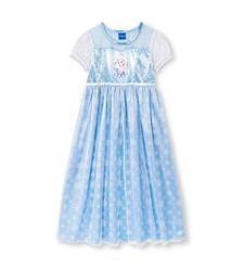 Disney Frozen Girl's Nightgown Dress - Blue - Size: XS