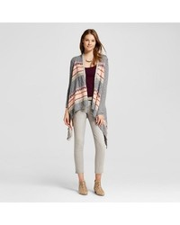 Mossimo Junior Women's Long Sleeve Waterfall Cardigan - Pink - Size: Small