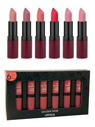 Golden Rose Matte Lipstick Set SET1 Set of 6