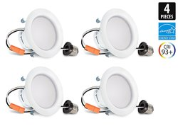 Hyperikon ENERGY STAR LED Downlight Daylight Glow - Pack of 4