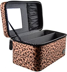 Caboodles Candy Makeup Cosmetic Train Case - cheetah