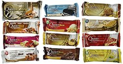 Quest Nutrition- Quest Bar Variety Bundle Set - 12 Pack - 1 of Each