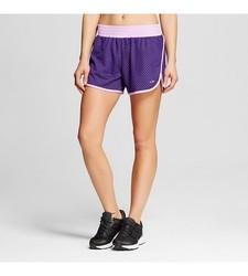 C9 Champion Women's Mesh Training Shorts - Rich Purple - Size: XXL
