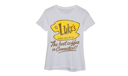 Lc Trendz Ladie's Short Sleeve Fitted Tee - White - Size: XL