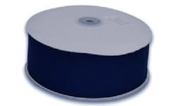 Wondershop 12 ft. x 1-1/2 inch Fabric Strip Ribbon - Blue/Navy