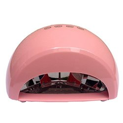 Belle Electric 110V 12W LED Light Nail Lamp Light Pink Acrylic Nail Dryer, Cure All Brands of LED Nail Polish in 30 Seconds