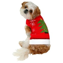 Christmas Pet Costume - Ugly Sweater - Size: X-Small)
