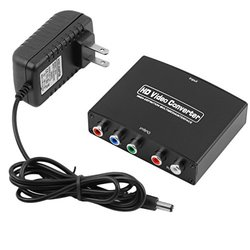 E-More 1080P HDMI to YPbPr Component Video Converter with R+L Audio