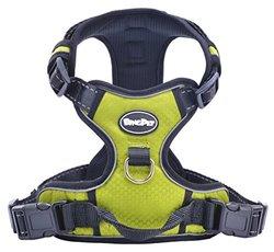 Front Range Reflective Outdoor Adventure Pet Vest with Handle - Green - M