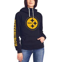 Nfl Pittsburg Steelers Women's Sunday Hoody - Size: Large