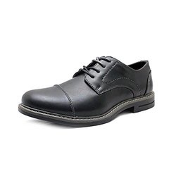 IZOD Men's Synthetic Sole Cabot Oxford - Black - Size: 9