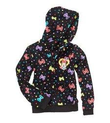 Girls License Soft Woobie Full Zip Hoodie Jacket - Multi - Size: Large