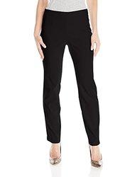 Briggs Women's Millennium Pull on Straight Leg Pant - Black - Size: M