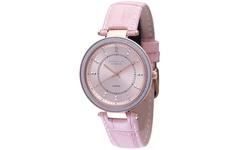 Johan Eric Ballrup Women's Rose Gold Analog Watch With Pink Strap