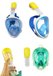 LC Prime Snorkeling Easy Breath Dry Mask Goggles Dive Swimming Sea