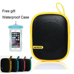 Aedilys Design Ultra-Portable Outdoor Wireless Bluetooth Speaker - Yellow
