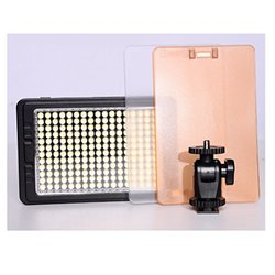 Tolifo Pt-c-204s Portable Dimmable Daylight LED Camera Light for Camcorder