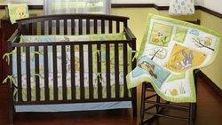 Baby Looney Tunes 3-piece Crib Bedding Set - Nature Fantasy