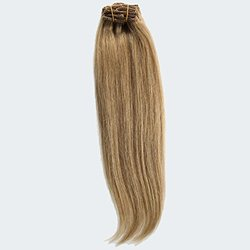 """GoGoDiva 18"""" Clip-In 100% Human Remy Hair Extensions - Strawberry Blonde"""