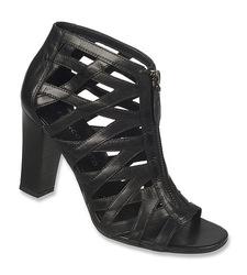 Franco Sarto Women's Sarto Cage Sandal Julisa Heel - Black - Size: M