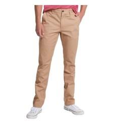 Slate & Stone Men's Sam Slim Fit Chino Pants - Khaki - Size: 32