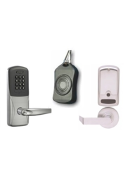 Schlage LD Less Cylindrical SHO Lever Proximity Reader with Keypad Lock
