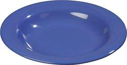 "Carlisle (4303414) Melamine Bowls - Case of 24 - Ocean Blue - Size: 9.25"""