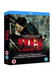 Tom Cruise Mission Impossible Quadrilogy Blu Ray DVD 4 Movies Set