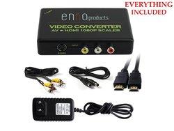 Enko Mini AV RCA Composite & S-video Video R/L Audio To HDMI Converter