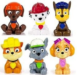Paw Patrol Figure Set - Pack of 6