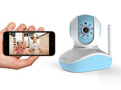Bayit Home Automation Bh1820bl Hd720p Baby Camera - Blue