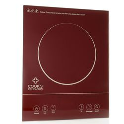 Cook's Companion 1500W LED Glass Programmable Induction Cooker - Metrol