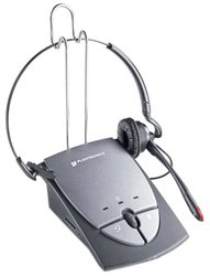 Plantronics S12 Corded Telephone Headset System (65145-01)