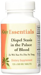 Kan Herbs Dispel Stasis in Palace Blood 500mg Tablets - 120 Count