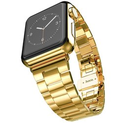 Biaoge Ultra Slim 2.0mm 42mm Apple Watch Band - Gold