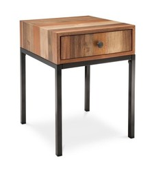 Mudhut Asmara Side Table - Brown