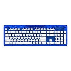Rock Candy Blueberry Boom Wireless Keyboard