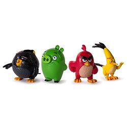 Angry Birds Collectible Figures - Pack of 4