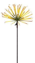 Luminous Starburst Kinetic Garden Stake With GlowInTheDark Beads