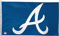 WinCraft Atlanta Braves 3ft x 5ft Baseball Flag