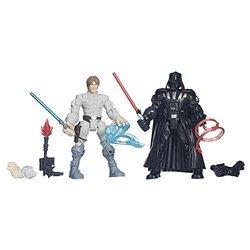 Star Wars Hero Mashers Luke Skywalker vs. Darth Vader