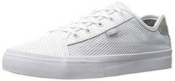 Creative Recreation Men's Kaplan Fashion Sneaker, White/Grey Snake Mesh, 10 M US