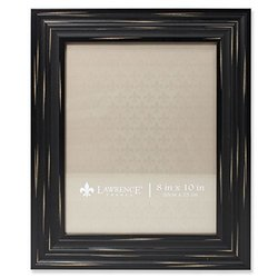Lawrence Weathered Richmond Picture Frame - Black - Size: 8x10-Inch