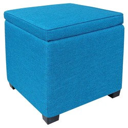 Room Essentials Storage Ottomon - Turquoise